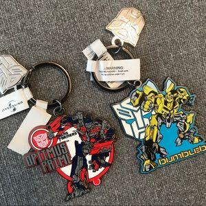 ☂️FREE Universal - Transformers Key Chains